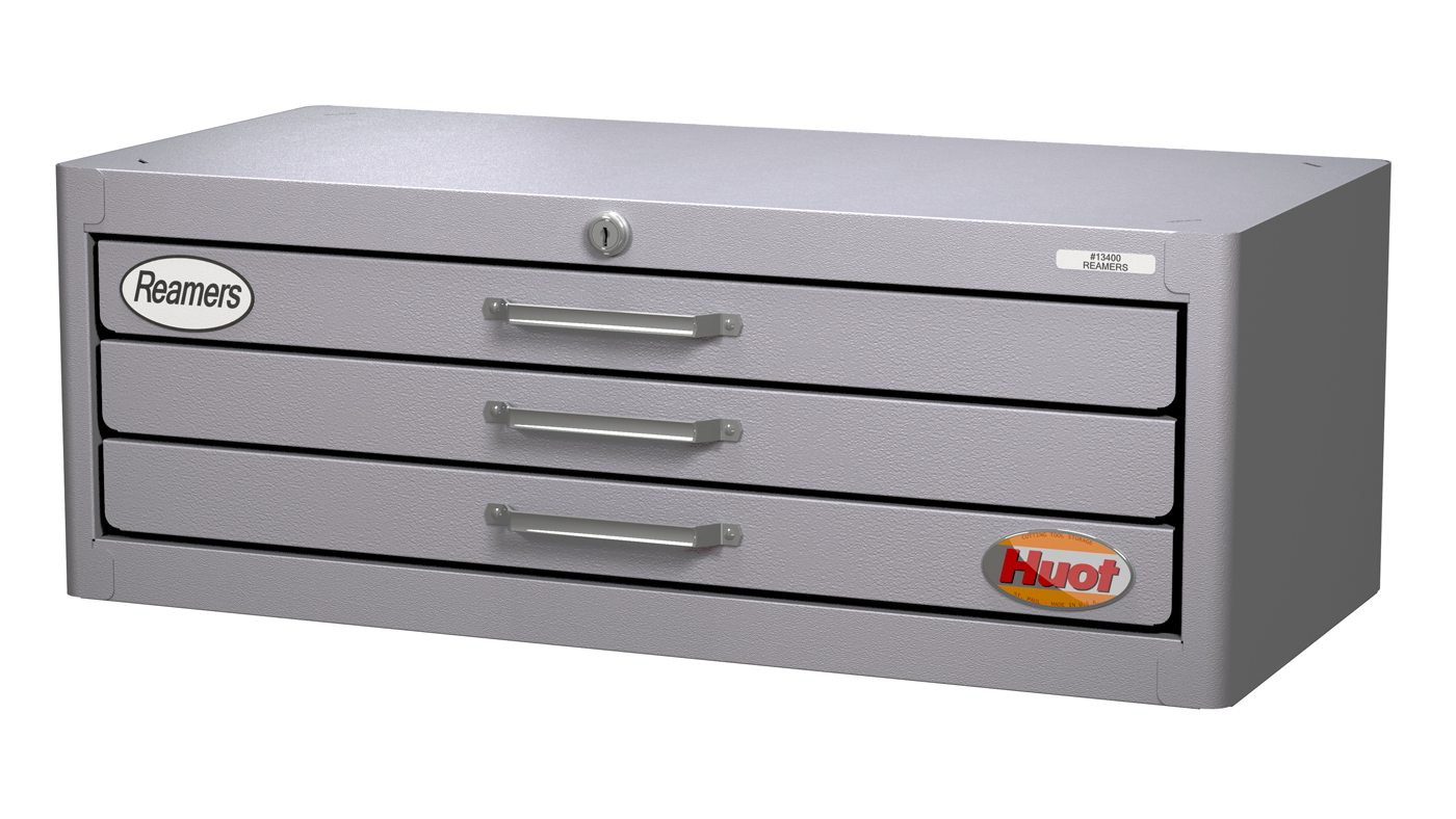 dowel Pin reamer storage cabinet
