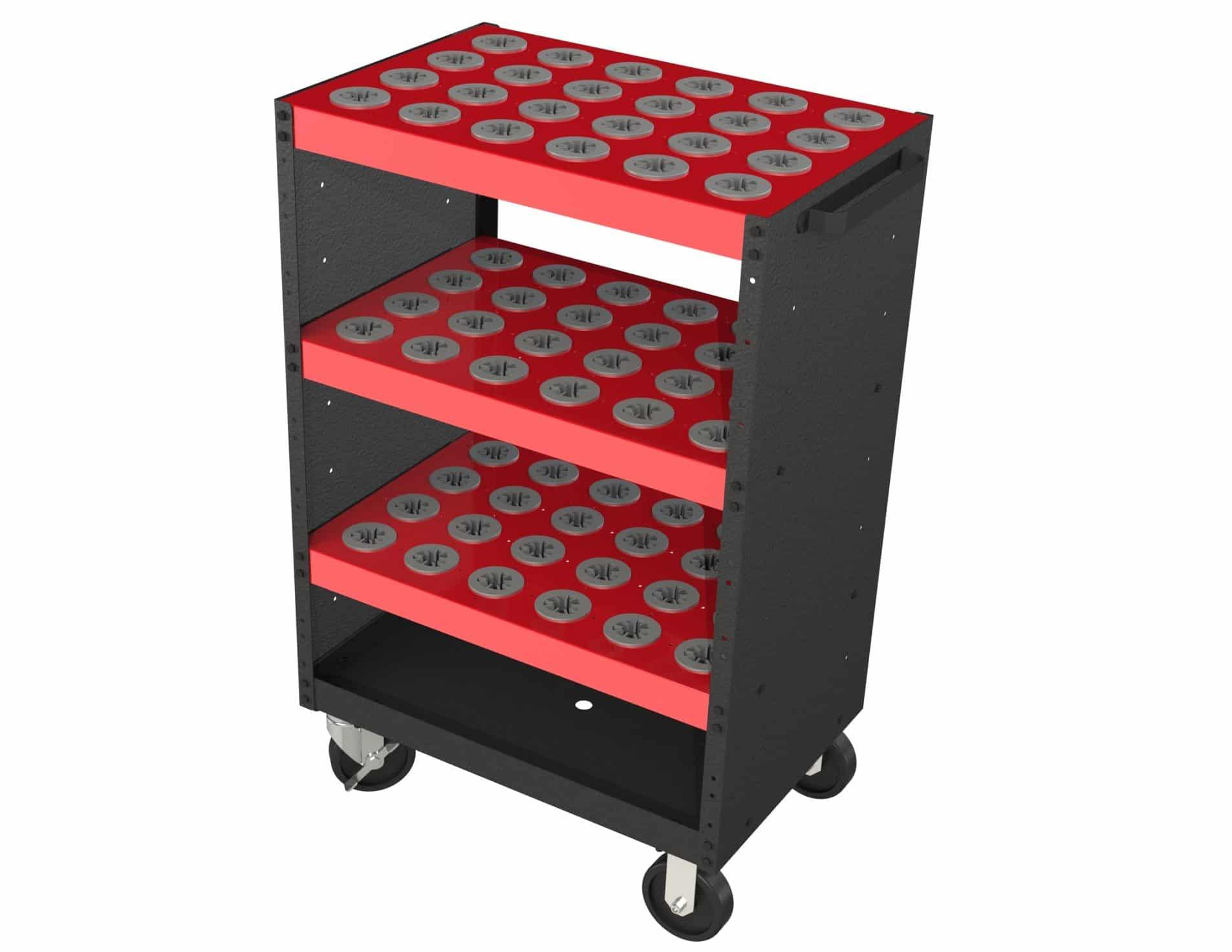 CNC Tool Storage Cart