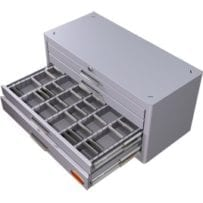 small parts storage cabinet steel heavy duty