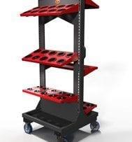 cnc storage 50 Taper cart