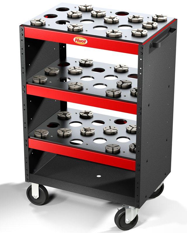 QUICK-GRIP PULLBACK CNC COLLET CHUCK cart